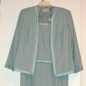 Mother Bridal Wedding Cocktail Dress Suit Size 10